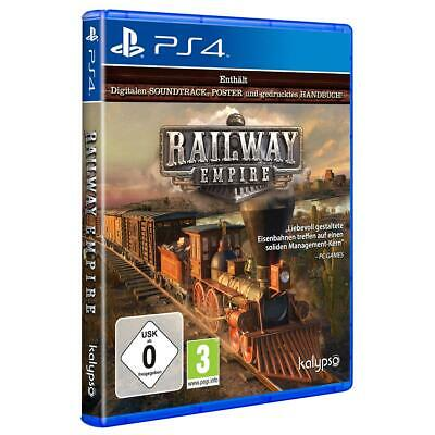 Railway Empire Sony PS4 Spiel Playstation 4 NEU&OVP