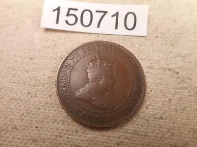 1906 Canada Large Cent Very Nice Raw Collector Grade Album Coin - # 150710