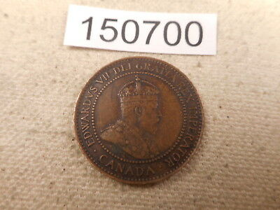 1908 Canada Large Cent Very Nice Raw Collector Grade Album Coin - # 150700