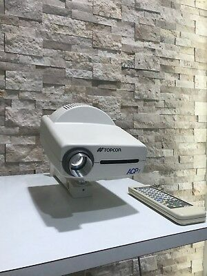 Topcon ACP-7R Auto Chart Projector w Wall Mount & Remote Control - Ophthalmic