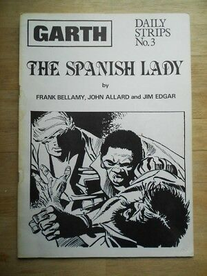Garth - The Spanish Lady - Daily Strips No. 3 limited ed' 1979 comic strip book