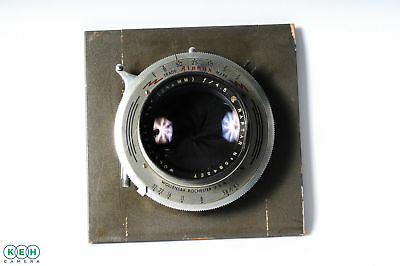 "Vintage Wollensak 9 1/2 (241mm) F/4.5 Raptar W/ Lens Board ""AS IS"""