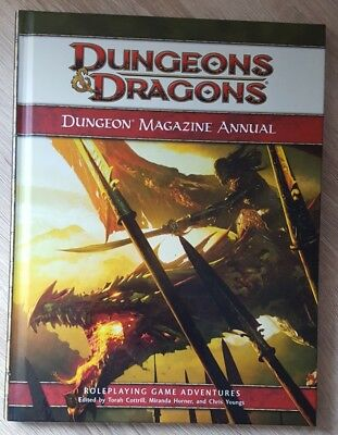 ++ Dungeon Magazine Annual 4e ++ D&D 4 th Edition, 4e Dungeons & Dragons