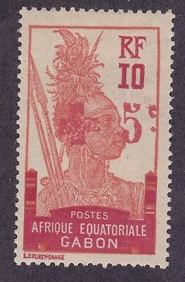 Gabon B2 Mint OG 1916 Semi Postal Surcharged Issue VF