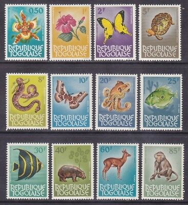 Togo 461-72 MNH 1964 Flowers - Butterflies - Animals - Fish Set VF