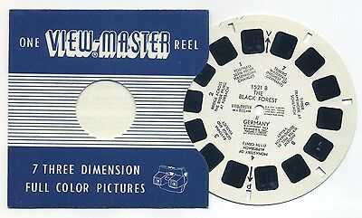 The Black Forest II Germany 1959 Belgium-made Sawyer's ViewMaster Reel 1521-B