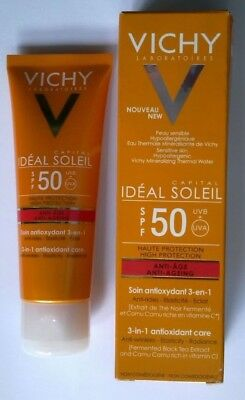 VICHY CREME SOLAIRE Tres Haute Protection