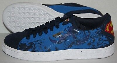 huge selection of 30588 f2d41 PUMA SUEDE SUPERMAN 2 Juniors US 5.5 UK 4.5 Peacoat/Princess Blue 36003601