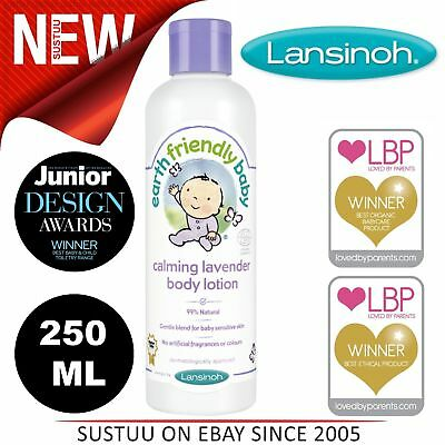 Earth Friendly Baby Organic Body Lotion│Dermatologically Approved│Lavender│250ml