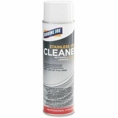 Genuine Joe Stainless Steel Cleaner and Polish 02114