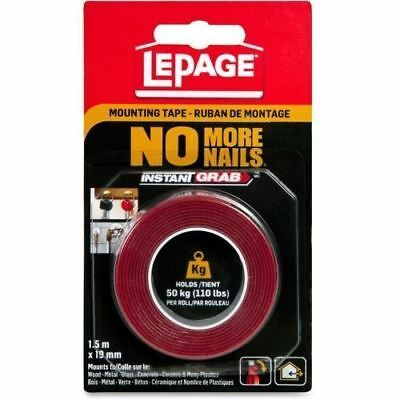 LePage No More Nails Mounting Tape 778548