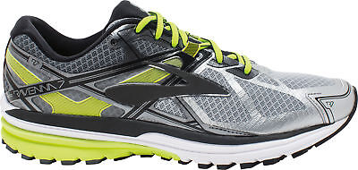 Brooks Ravenna 7 Mens Running Shoes Support Trainers - Silver
