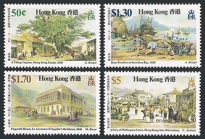 Hong Kong 486-489,MNH.Michel 503-506. 19th Century Paintings,1987.Auguste Borget