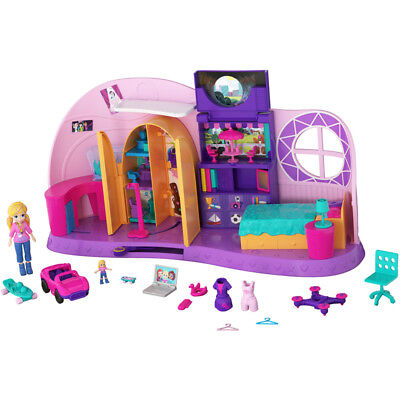 Polly Pocket Go Tiny Tranforming Playset - FRY98 - NEW