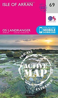 Isle of Arran (OS Landranger Active Map) New Map Book Ordnance Survey