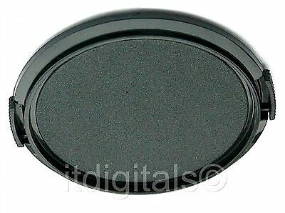 2x 37mm Snap-on Front Lens Cap Cover Fits Filter Ring lot of Two U&S 37 mm