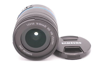 Samsung 18-55mm III F/3.5-5.6 Ois I-Function Objectif pour NX Caméras - Noir