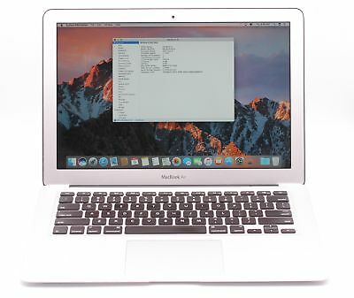 "Apple MacBook Air 13"" Mid 2011 Laptop 1.7GHz Intel Core i5 4GB 128GB MC965LL/A"