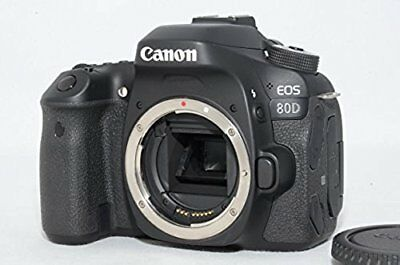 Canon Eos 80D Digital SLR Camera Corpo (Nero) Otturatore: 263