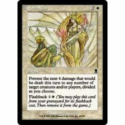 MTG ODYSSEY * Embolden (foil) - Condition: Mint / Near Mint