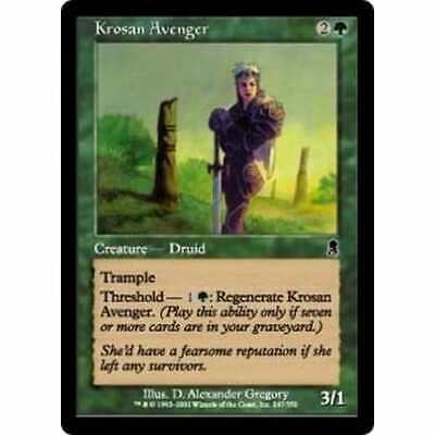 MTG ODYSSEY * Krosan Avenger (foil) - Condition: Mint / Near Mint