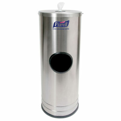 PURELL Hand Sanitizing Wipes Stainless Steel Stand Dispenser