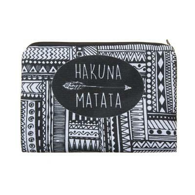 Hakuna Ma Fashion Case Makeup Pouch Cosmetic Pencil Bag Stationery Disney H