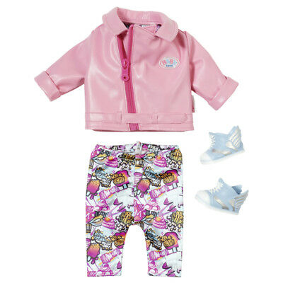 Baby Born City Deluxe Scooter Baby Doll Outfit - 825259 - NEW