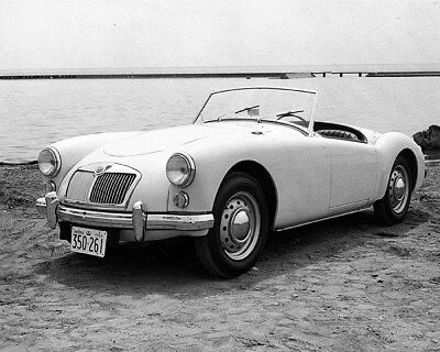 1960 MG Canada MGA Factory Photo cb1519