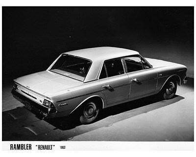 1963 Rambler Renault France Factory Photo cb1551