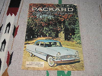 1955 Packard Full Line Sales Brochure C5038