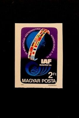 Hungary Scott No. 2813 MNH Imperforate Imperf Imp Stamp of 1983