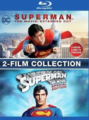 SUPERMAN THE MOVIE EXTENDED CUT & SPECIAL EDITION New Blu-ray MOD Both Versions