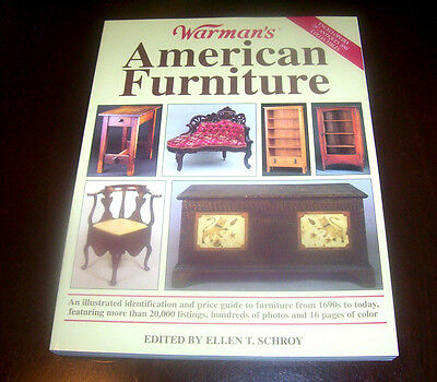 WARMAN'S AMERICAN FURNITURE Antiques Antique Collector Collecting Guide Book NEW