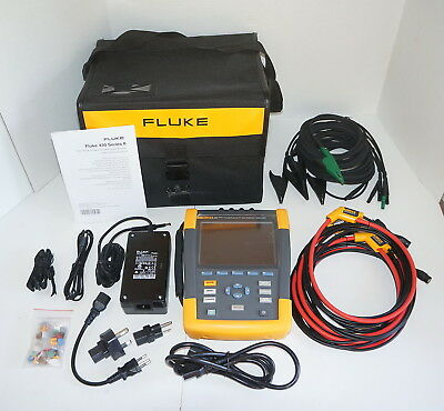 Fluke 435-Ii Series Ii Power Quality & Energy Analyzer New Demo Unit