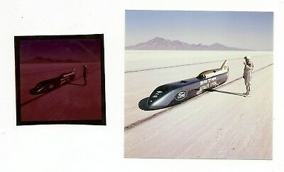 02: Mickey Thompson World Land Speed Record Automobile Ford