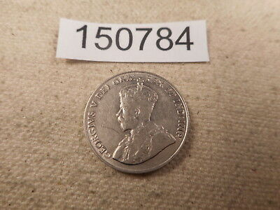 1922 Canada Five Cents Very Nice Collector Grade Unslabbed Album Coin - # 150784