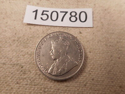 1922 Canada Five Cents Very Nice Collector Grade Unslabbed Album Coin - # 150780