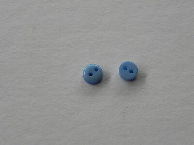 New Pack 20 Mini Blue Buttons