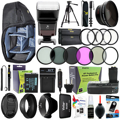 Canon T6i T6s/750D 760D Kamera Everything You Need Zubehör Set 58MM Objektiv