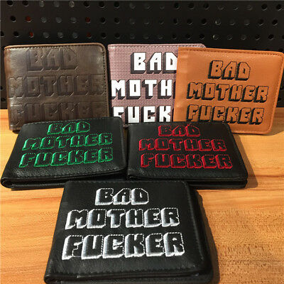 Officially Licensed BMF PULP FICTION Bad Mother F*cker Leather Wallet Card