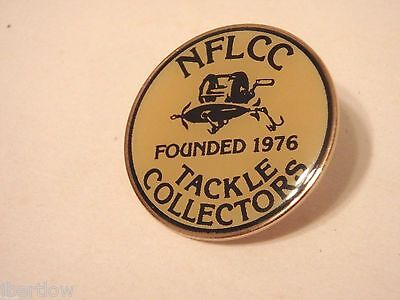 Vintage NFLCC Founded in 1976 Fishing Lure Pin / Button 7/8 ""
