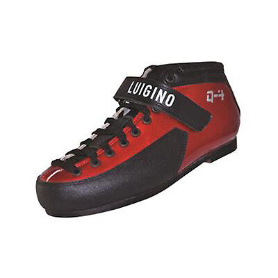 Derby Skate Boot - Red Luigino Q4 Leather Skate Boots Size 4-12