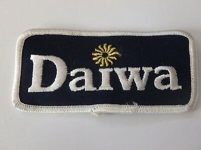 "Daiwa Fishing Tackle Patch Excellent Condition 4"" X 2"""