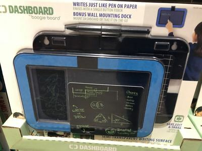 Boogie Board Dashboard Wall Mount E-Writer With Stylus & 2 Templates