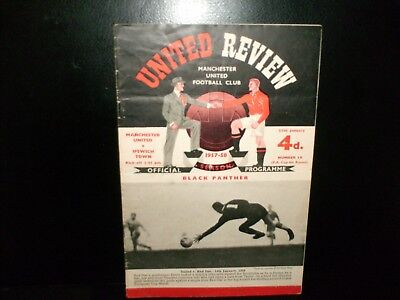 1957/1958  Manchester  United  V   Ipswich Town  Fa Cup  4Th  Round