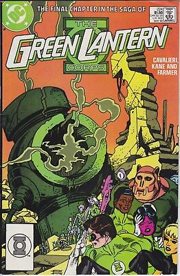 DC  Comic TALES OF THE GREEN LANTERN CORPS 224 £2.99 Post Free UK (FINAL ISSUE)