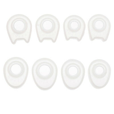 4 Sizes Clear Silicone Mould Resin Pendant Ring Mold Jewelry Making Tool DIY