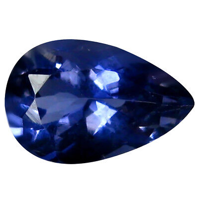 1.11 ct AAA Fabulous Pear Shape (9 x 6 mm) Iolite Natural Loose Gemstone