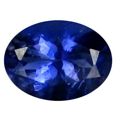0.65 ct AAA Stunning Oval Shape (7 x 5 mm) Iolite Natural Loose Gemstone